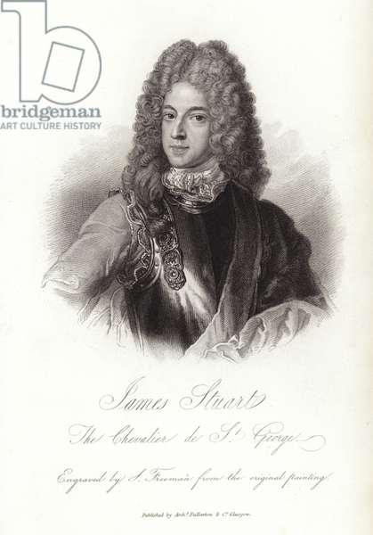 Portrait of James Stuart (engraving)