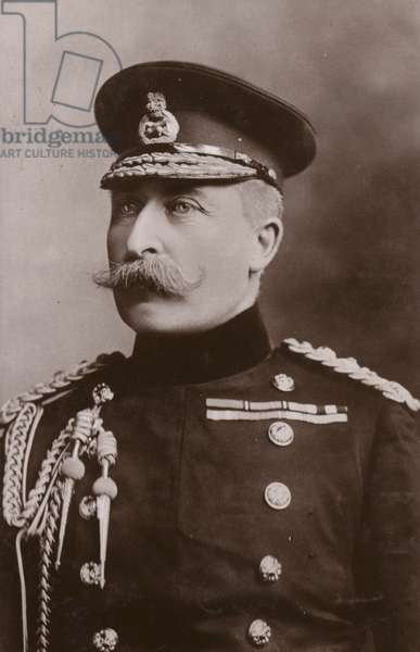 HRH The Duke of Connaught (b/w photo)
