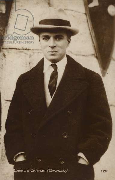 Charlie Chaplin, Charlot (b/w photo)