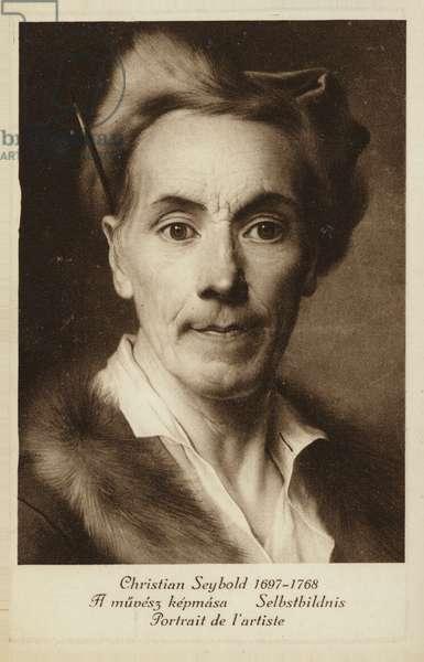 Christian Seybold, German painter (litho)