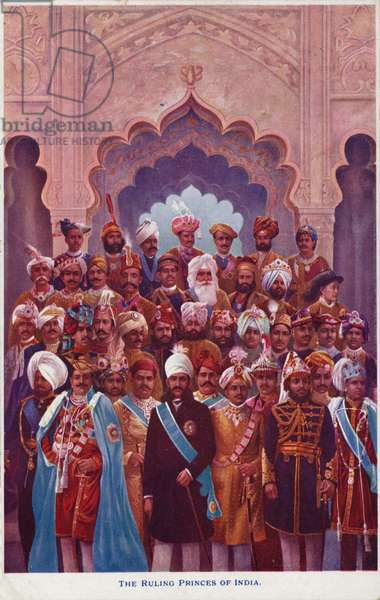 The Ruling Princes of India (photo)