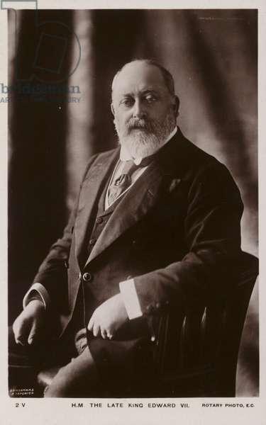 Edward VII (b/w photo)