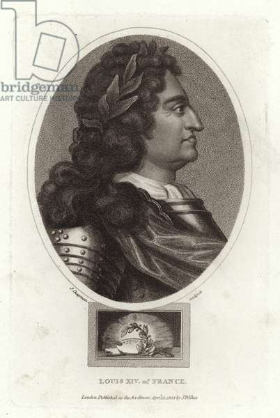 Louis XIV of France (engraving)