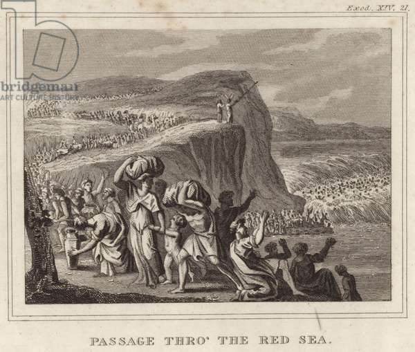 Passage Thro' the Red Sea (engraving)