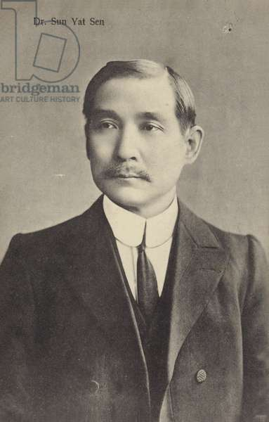 Dr Sun Yat Sen (b/w photo)