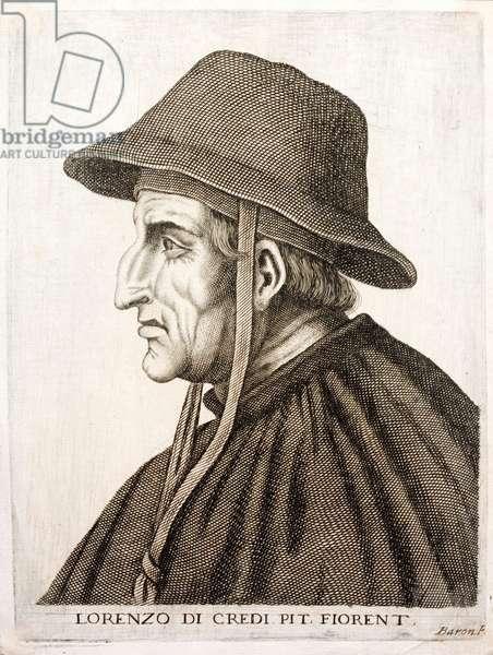 Lorenzo di Credi, Italian Renaissance painter (engraving)