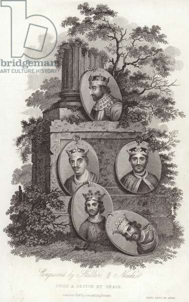 Kings of England (engraving)