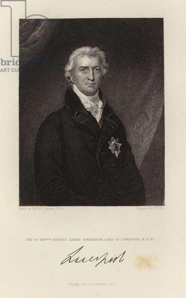 Robert Banks Jenkinson (engraving)