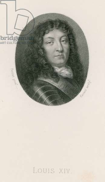 King Louis XIV (engraving)
