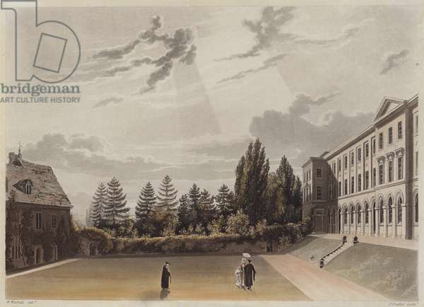 Worcester College, Oxford (aquatint)