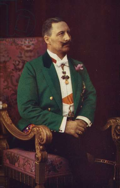 Kaiser Wilhelm II (coloured photo)
