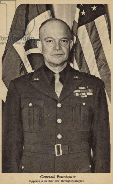 General Eisenhower (b/w photo)