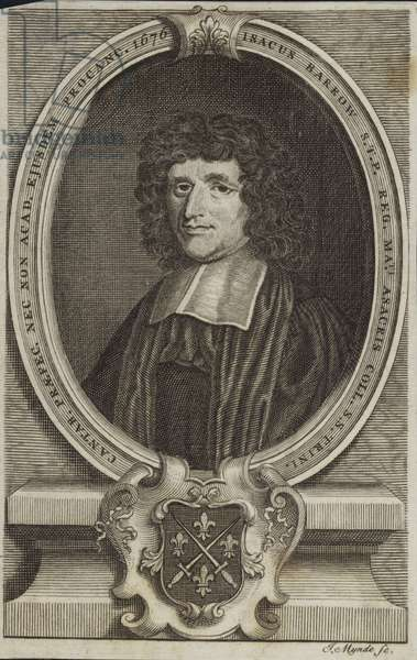 Isaac Barrow (engraving)