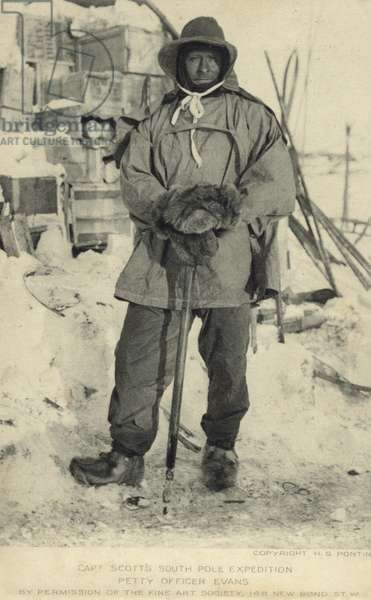 Robert Falcon Scott (1868-1912), British Antarctic explorer (b/w photo)