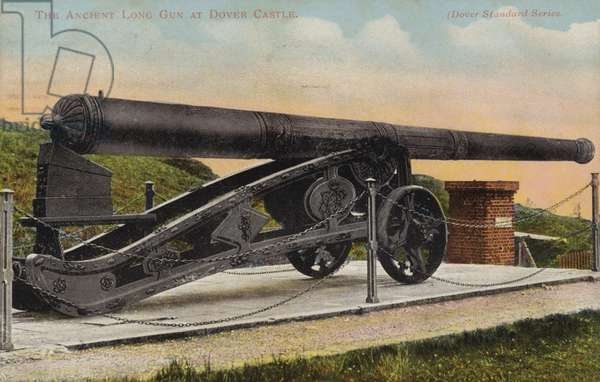 The Ancient Long Gun at Dover Castle (photo)