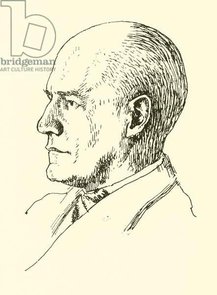 John Galsworthy (litho)