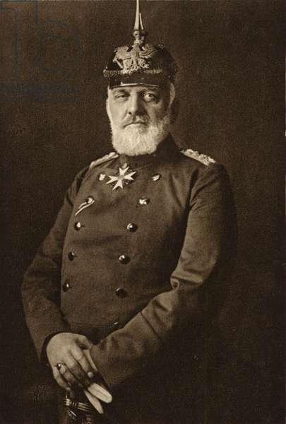 General Josias von Heeringen (b/w photo)