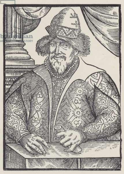 Ivan IV, Tsar of Russia (litho)