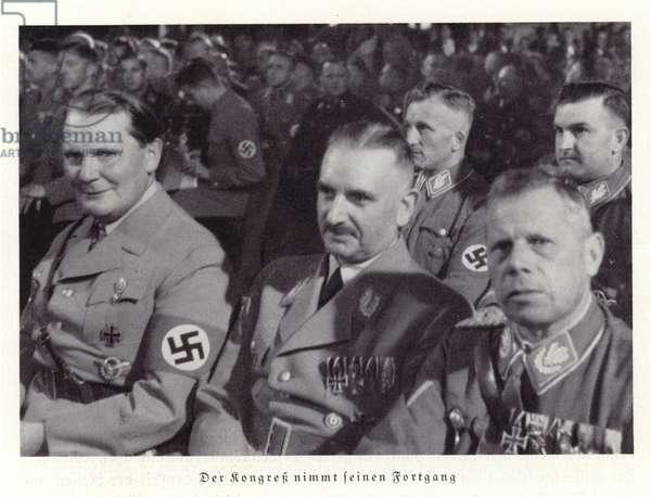 Nazi Party Congress, Nuremberg, 1936 (b/w photo)