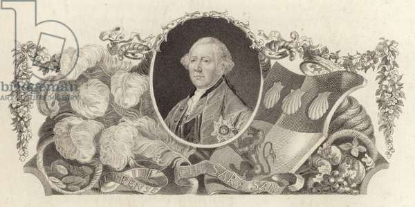 John Russell, 4th Duke of Bedford, British politician (engraving)