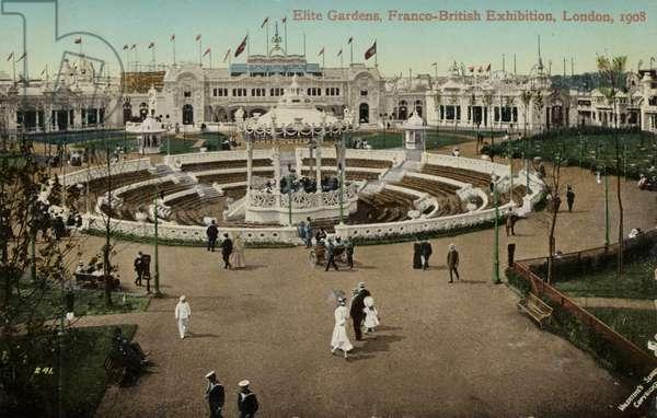 Elite Gardens, Franco-British Exhibition, London, 1908 (photo)