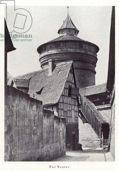 Neutor, Nuremberg (b/w photo)
