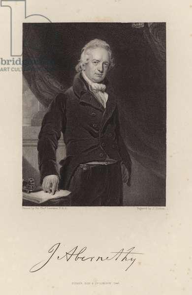 John Abernathy (engraving)