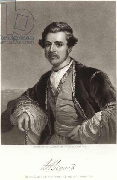 Sir Austen Henry Layard (engraving)