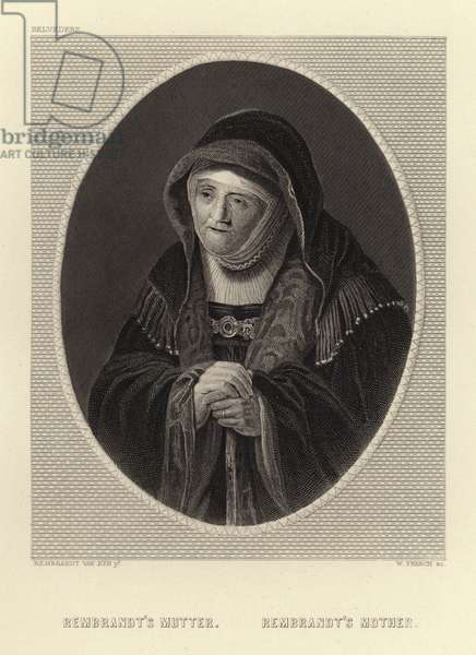 Rembrandt's Mother (engraving)