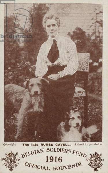 Edith Cavell (b/w photo)