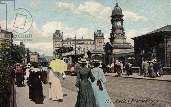 Railway station in Scarborough (photo)