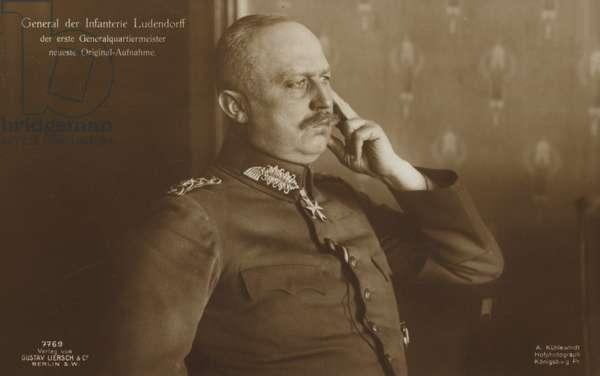 General Ludendorff (b/w photo)