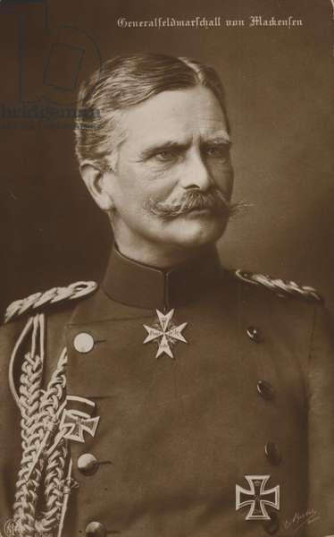 General von Mackensen (b/w photo)