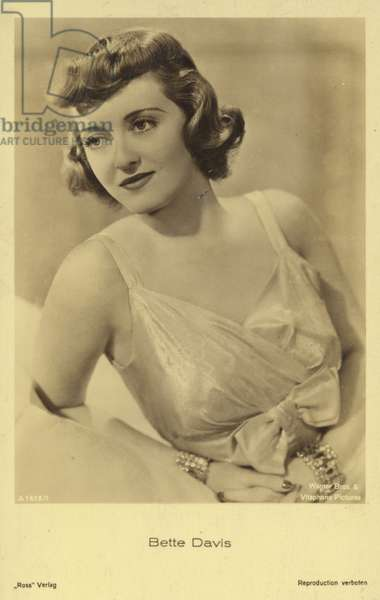 Bette Davis (b/w photo)