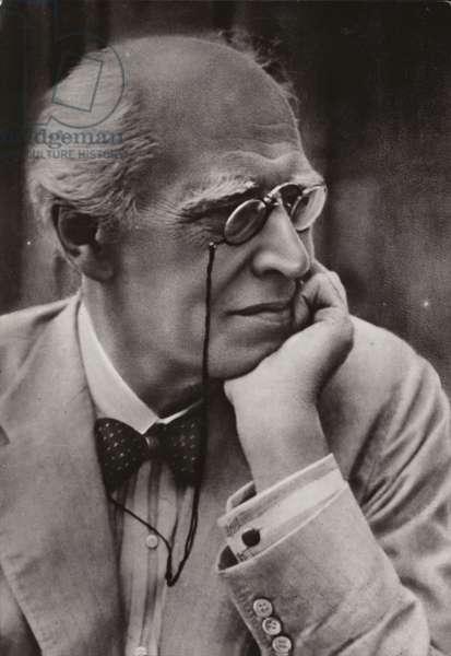 Konstantin Sergeyevich Stanislavsky (b/w photo)