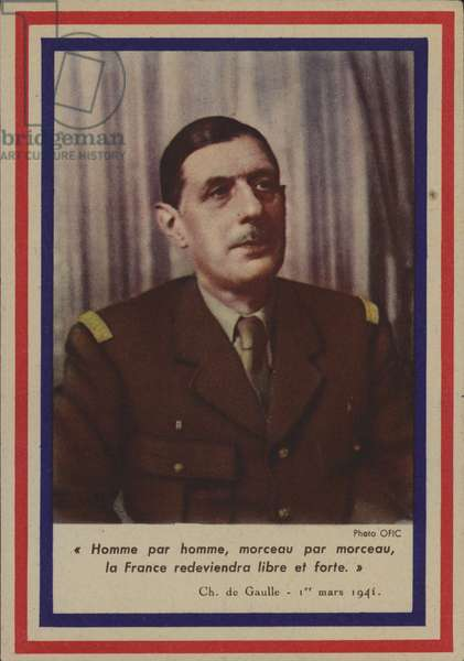 General de Gaulle (photo)