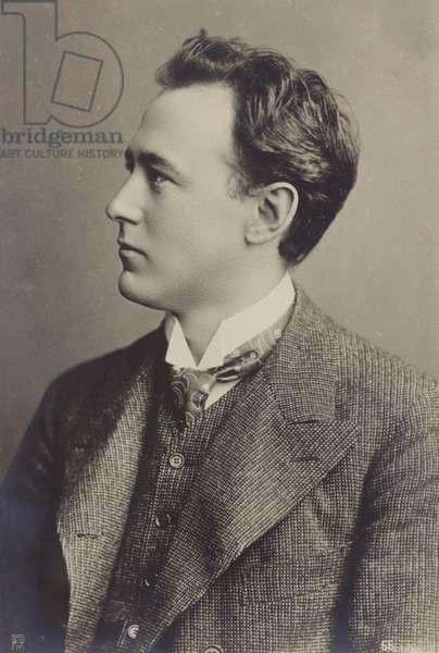 Portrait of Felix von Weingartner (b/w photo)
