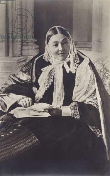 Florence Nightingale (b/w photo)