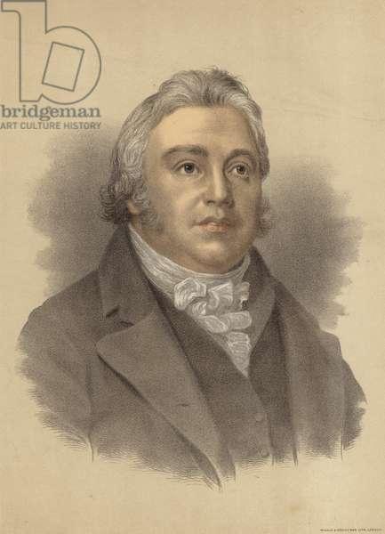 Samuel Taylor Coleridge (colour litho)