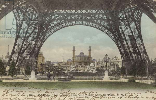 Postcard depicting Le Trocadero (photo)