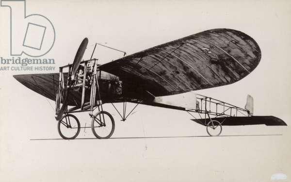 Bleriot monoplane (b/w photo)
