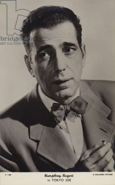 Humphrey Bogart, American actor and film star (b/w photo)