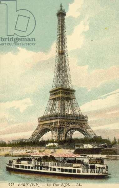 The Eiffel Tower (colour photo)