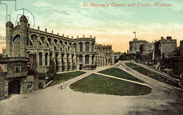 St George's Chapel, Windsor Castle (colour photo)