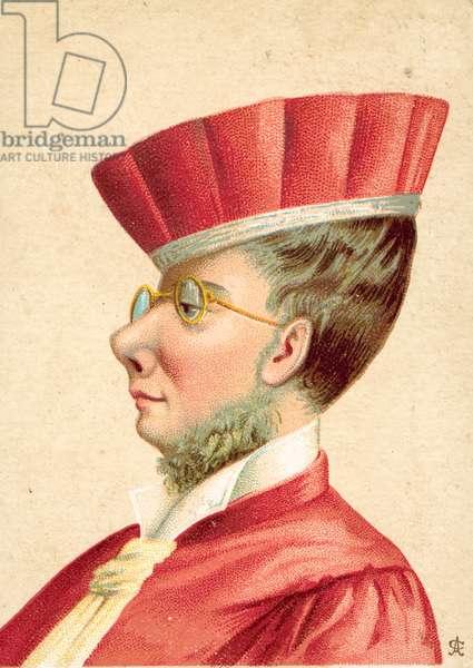 Legal figure, possibly Italian (colour litho)