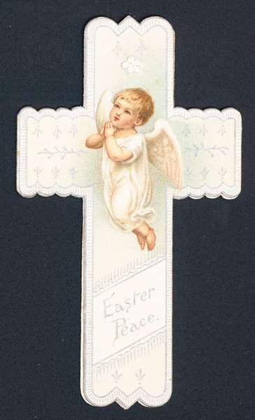 Easter greetings (chromolitho)