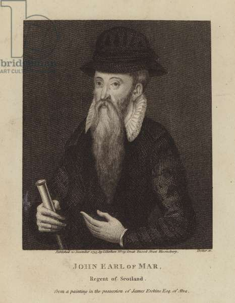 John, Earl of Mar, Regent of Scotland (engraving)
