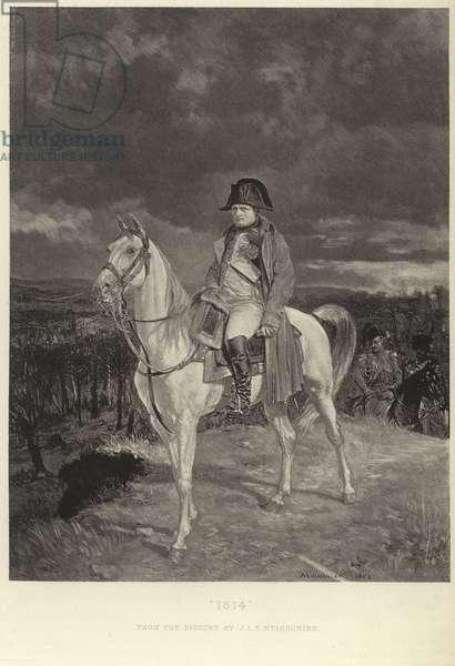 Portrait of Napoleon Bonaparte (litho)