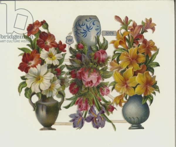 Flowers (chromolitho)
