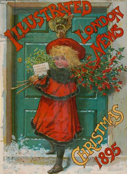 Illustrated London News, Christmas Edition, 1895 (colour litho)